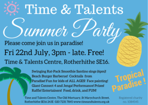 Summer party hold the date service users - hires png
